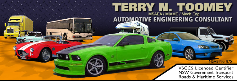 Terry Toomey Automotive Engineer